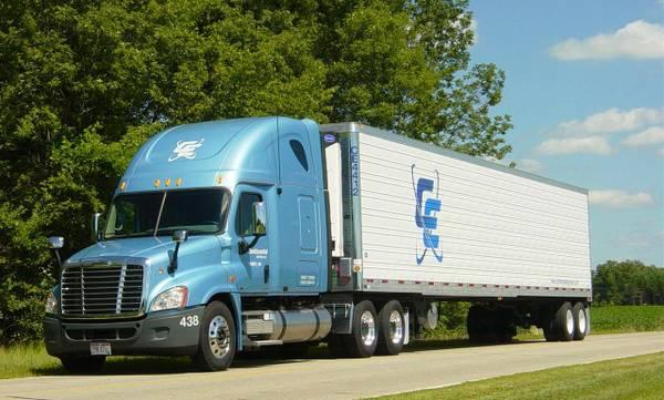 cdllife continental express solo company driver trucking job