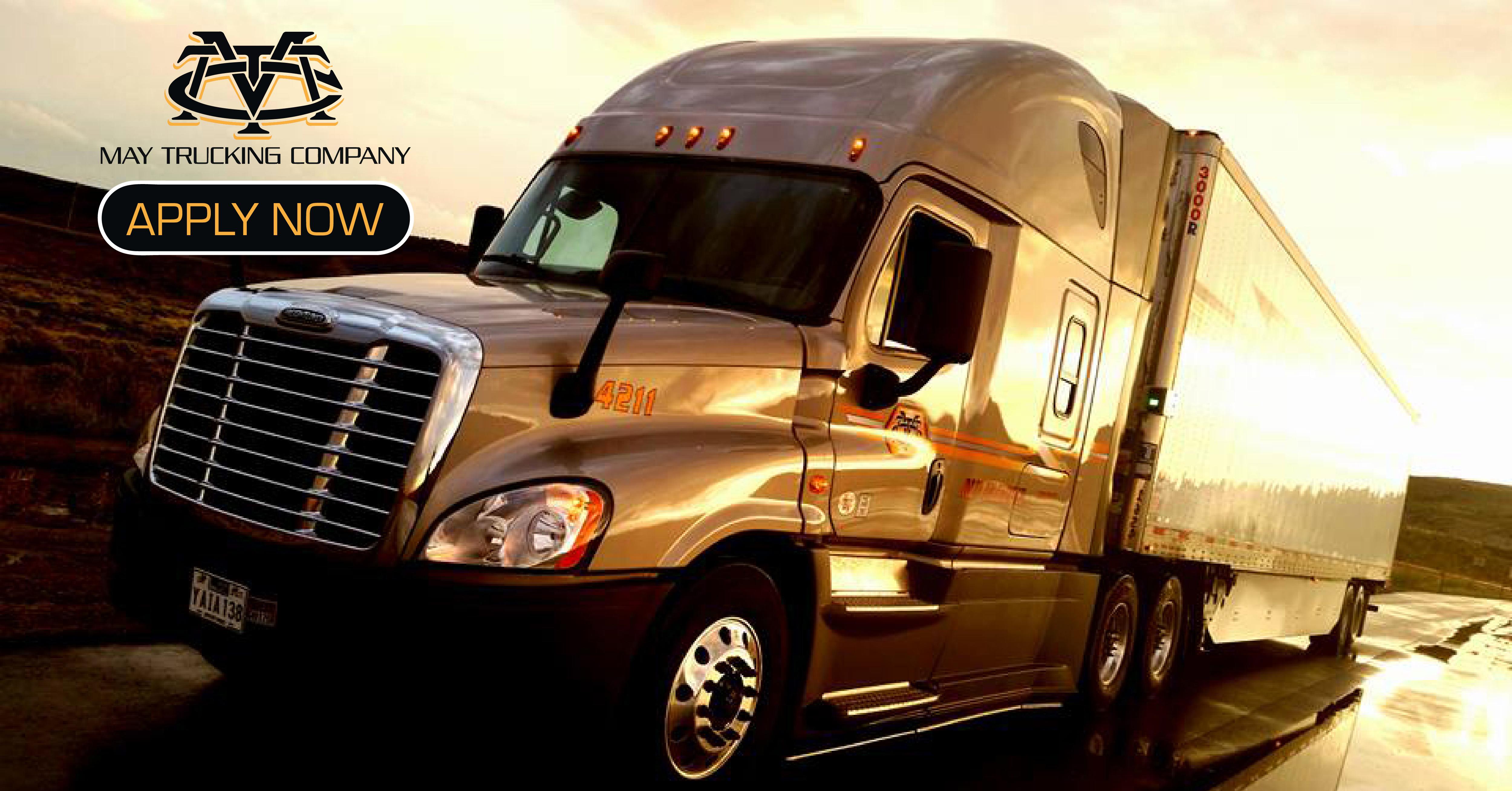CDLLife | May Trucking Solo Company Driver Trucking Job