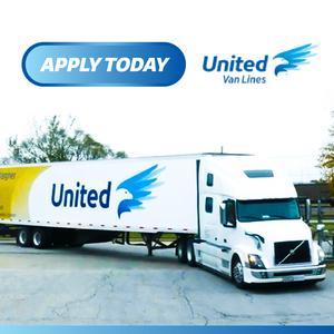 United Van Lines Solo Owner Operator Trucking Job