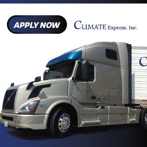Climate Express Is hiring Regional CDL-A Company Drivers!