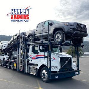 Hansen and Adkins Solo Auto Hauler Job