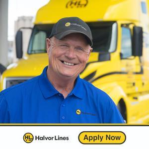 Halvor Lines Hiring Solo Flatbed OTR Drivers!