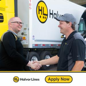 Halvor Lines Hiring Solo OTR Drivers!