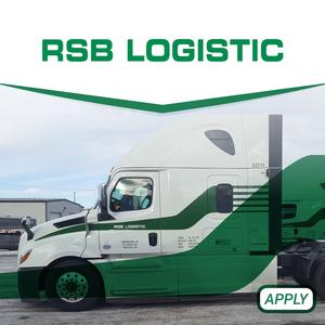 RSB Logistic Seeking Owner Operators - Great Pay, Miles and Benefits!