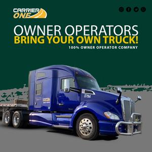 Now Contracting Flatbed Owner Operators | 80% - 82% of Line Haul