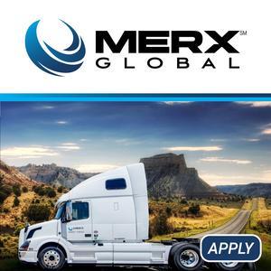 Merx Global is always looking for top drivers!