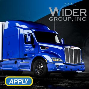 Wider Group is Hiring Lease Purchase Drivers | 80% of Load