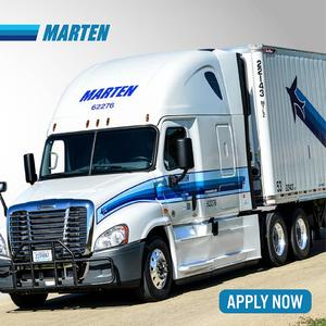 Marten Solo Hiring OTR & Regional Drivers - Guaranteed Weekly Pay!