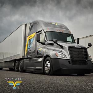 Variant Is Offering CDL-A OTR Drivers Industry Leading Pay!