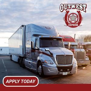 Outwest Express Is Hiring Team Company Drivers!