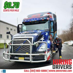 Z Transportation its hiring OTR drivers - Choose your truck!