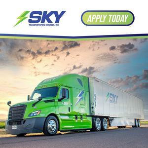 Sky Transportation HIRING Team Drivers!