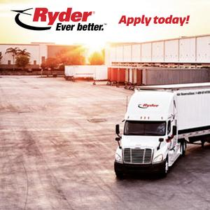 Ryder is Seeking Class A Drivers• Home EVERY Weekend• No Touch Freight