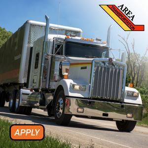 Area Transportation Now Hiring Company Drivers - Regional Runs