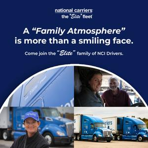 National Carriers is Seeking Company Drivers for OTR & Regional