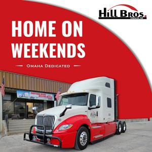 CDL-A Drivers   Dedicated Account   HOME WEEKENDS   $85K-$95K/Year