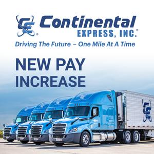 Continental Express is Seeking Local Drivers in Plymouth, MI