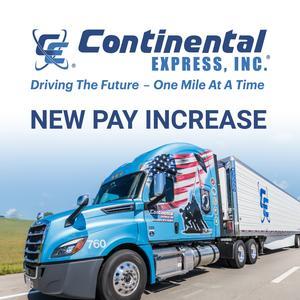 Continental Express is Seeking Team Company Drivers