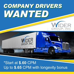 Wider Group is Hiring CDL-A Company Drivers - Dry Van with high pay!
