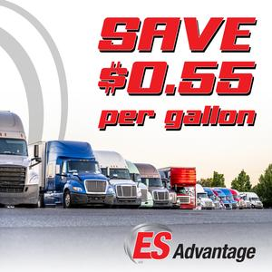 ES Advantage offers fuel discount services for Owner Operators