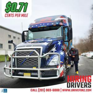 Z Transportation its hiring OTR drivers - Choose your truck! | 71 CPM