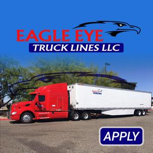 Eagle Eye Truck Lines Now Hiring CDL A LEASE PURCHASE TRUCK DRIVERS!