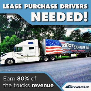 Flatbed Lease Purchase Drivers | Earn 80% of Revenue!