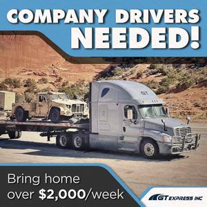 GT Express is Hiring CDL-A Company Drivers | Earn $2K Weekly