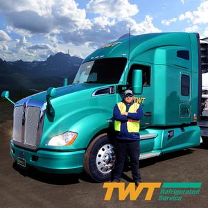 TWT Refrigerated Service Solo Company Driver Trucking Job