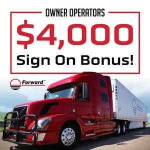 Forward Air Is Partnering With Owner Operators - $4,000 Sign On Bonus!