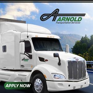 Arnold Transportation is Hiring CDL-A Drivers | $10K Sign On Bonus