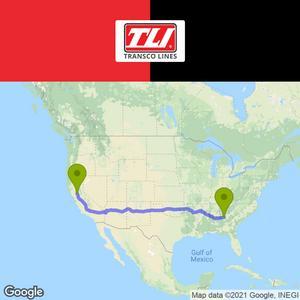 Transco Lines Inc Hiring Team Company Drivers -  Sacramento to Atlanta
