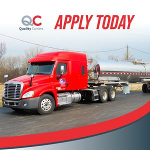 Quality Carriers is Hiring CDL-A Drivers   $5K Sign On Bonus!