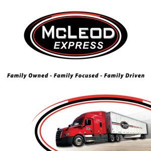 McLeod is Hiring OTR Van Drivers – Up To 60CPM