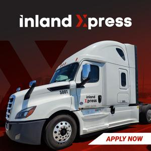Inland Xpress Is Hiring Solo & TEAM CDL-A Drivers