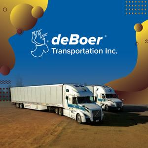 deBoer is Hiring Drivers for 21 Day OTR Runs | Up To $97,000/Year