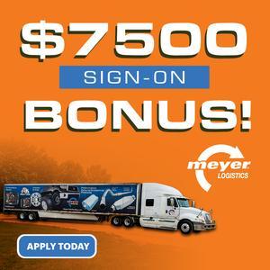 Meyer Logistics is Hiring Team Drivers!