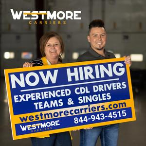 Westmore Carriers is Partnering with Owner Operators | Weekends Off