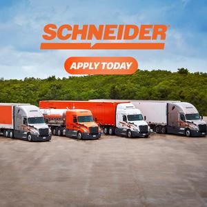 Schneider Solo Company Driver Trucking Job